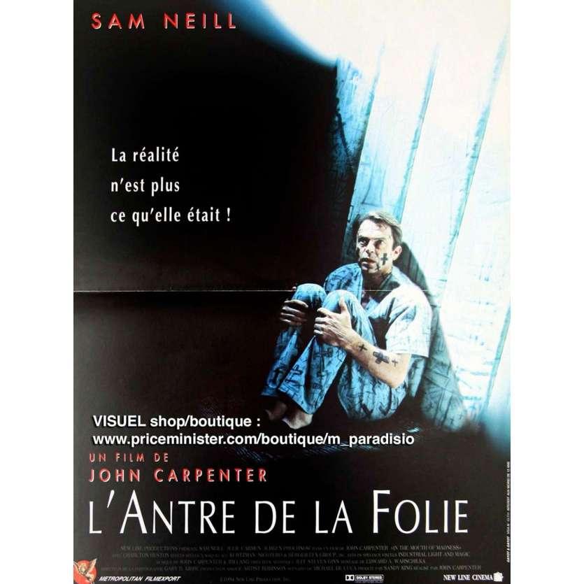 L'ANTRE DE LA FOLIE Affiche du film - 40x60 cm