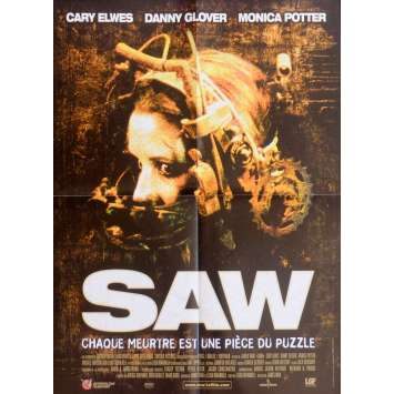 SAW Affiche de film 40x60 - 2004 - Cary Elwes, James Wan