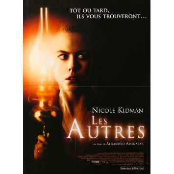 LES AUTRES Affiche de film - 40x60 cm. - 2001 - Nicole Kidman, Alejandro Amenábar