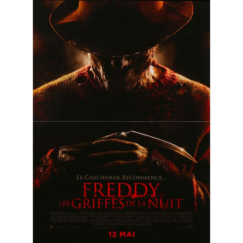 A NIGHTMARE ON ELM STREET Original Movie Poster - 15x21 in. - 2010 - Samuel Bayer, Rooney Mara