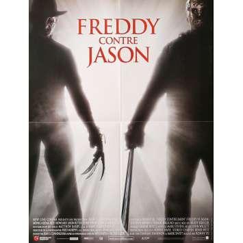 FREDDY CONTRE JASON Affiche de film - 40x60 cm. - 2003 - Robert Englund, Ronny Yu