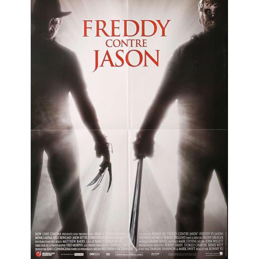 FREDDY VS JASON Original Movie Poster - 15x21 in. - 2003 - Ronny Yu, Robert Englund