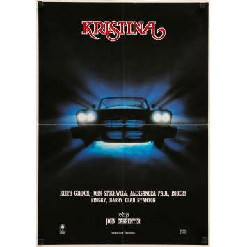 CHRISTINE Affiche de film - 50x70 cm. - 1983 - Keith Gordon, John Carpenter