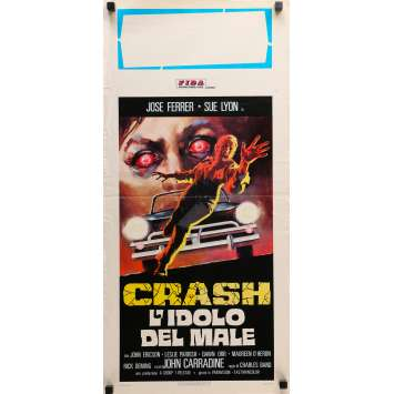 CRASH! Original Movie Poster - 13x28 in. - 1976 - Charles Band, José ferrer