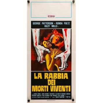 BUVEURS DE SANG Affiche de film - 33x71 cm. - 1970 - Jadin Wong, David E. Durston
