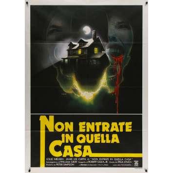 LE BAL DE L'HORREUR Affiche de film - 100x140 cm. - 1980 - Jamie Lee Curtis, Paul Lynch