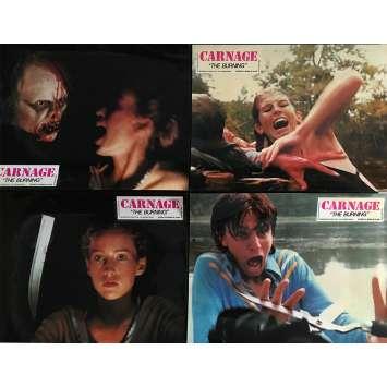 CARNAGE Photos de film x4 - 21x30 cm. - 1981 - Brian Matthews, Tony Maylam