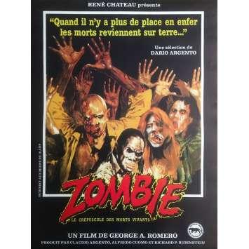DAWN OF THE DEAD Original Movie Poster - 15x21 in. - R1990 - George A. Romero