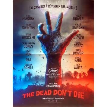 THE DEAD DON'T DIE Original Movie Poster - 15x21 in. - 2019 - Jim Jarmusch, Bill Murray, Adam Driver