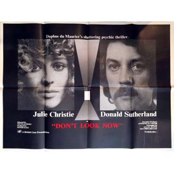 DON'T LOOK NOW Original Movie Poster - 30x40 in. - 1973 - Nicholas Roeg, Donald Sutherland