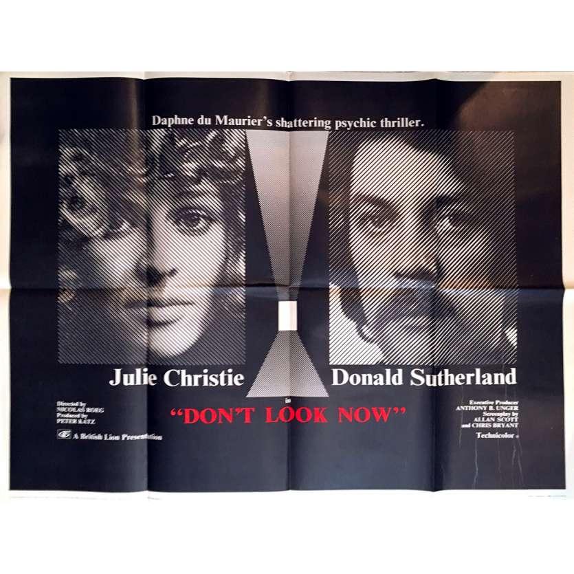 NE VOUS RETOURNEZ PAS Affiche de film - 76x102 cm. - 1973 - Donald Sutherland, Nicholas Roeg