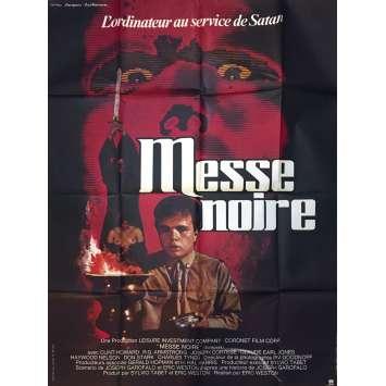 MESSE NOIRE Affiche de film - 120x160 cm. - 1981 - Clint Howard, Eric Weston