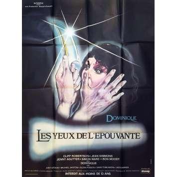 LES YEUX DE L'EPOUVANTE / DOMINIQUE Affiche de film - 120x160 cm. - 1979 - Cliff Robertson, Jean Simmons, Michael Anderson