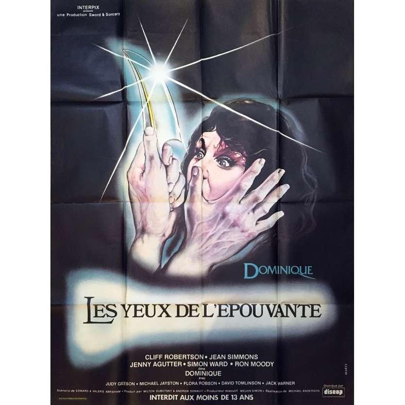 DOMINIQUE Original Movie Poster - 47x63 in. - 1979 - Michael Anderson, Cliff Robertson, Jean Simmons