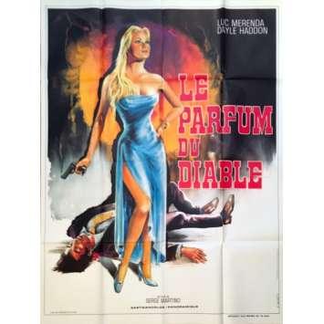 THE CHEATERS Original Movie Poster - 47x63 in. - 1975 - Sergio Martino, Luc Merenda