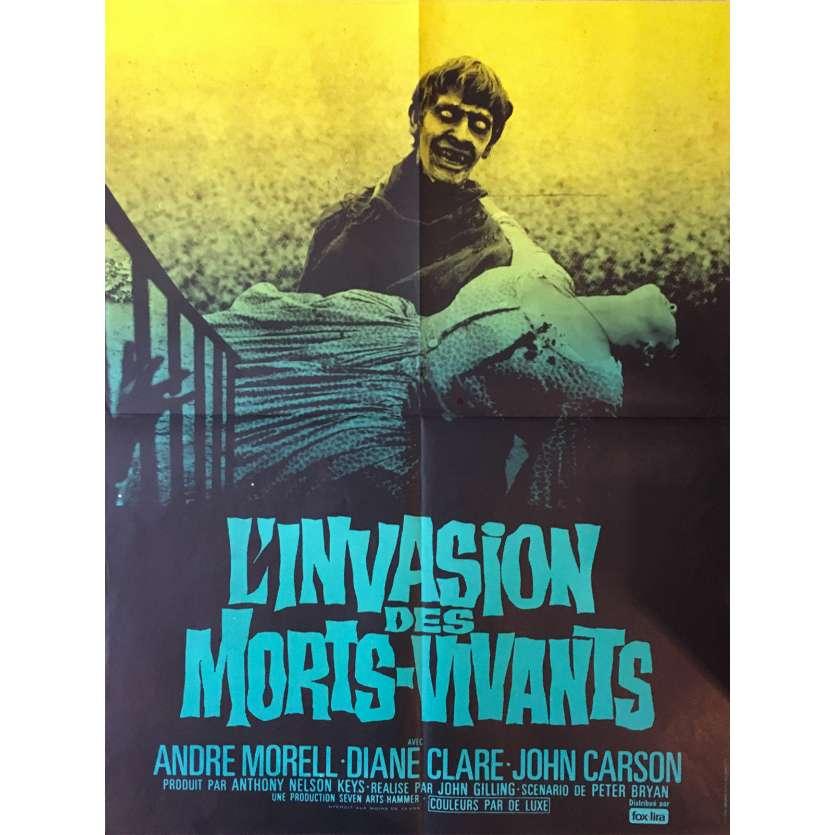 L'INVASION DES MORTS VIVANTS Affiche de film - 60x80 cm. - 1966 - André Morell, John Gilling