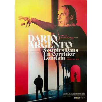 DARIO ARGENTO SOUPIRS DANS UN CORRIDOR LOINTAIN Affiche de film - 40x60 cm. - R1980 - Dario Argento, Jean-Baptiste Thoret