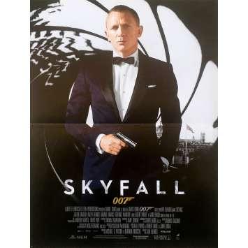 SKYFALL French Movie Poster 15x21 - 2012 - James Bond, Daniel Craig 007