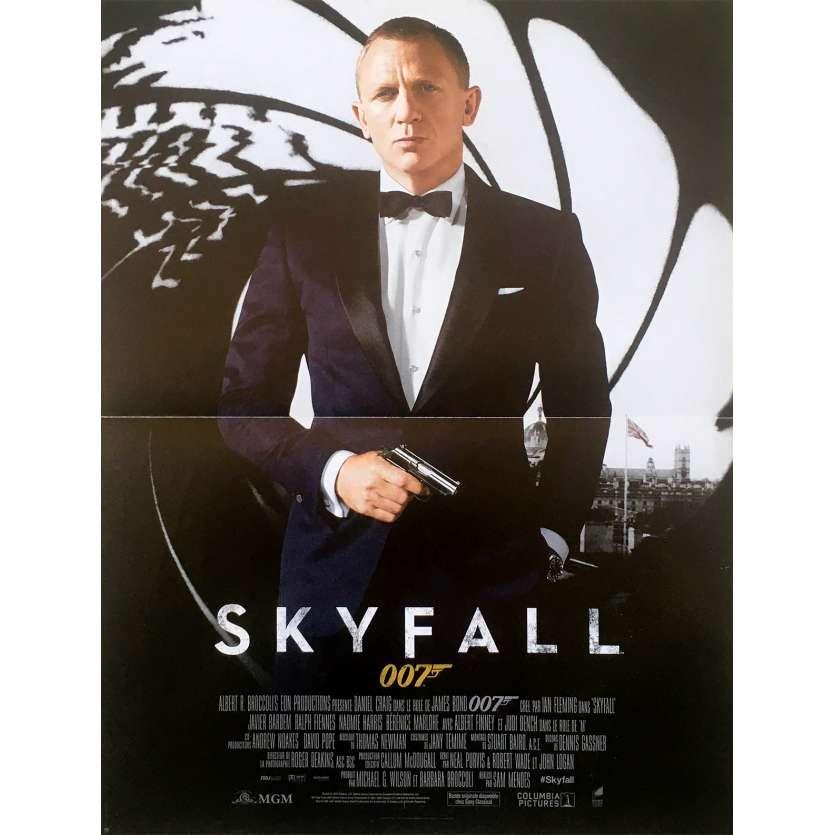 SKYFALL Affiche de film 40x60 - 2012 - Daniel Craig, James Bond 007