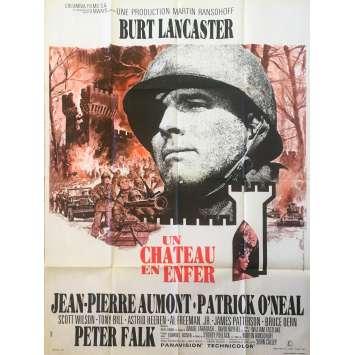 UN CHATEAU EN ENFER Affiche de film 120x160 - 1969 - Burt Lancaster