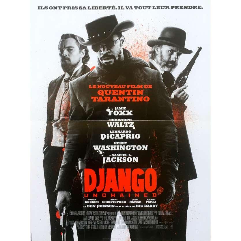 DJANGO UNCHAINED Affiche de film 40x60 - 2012 - Quentin Tarantino