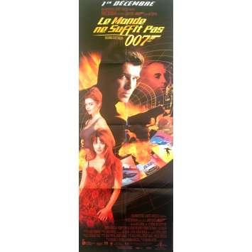 LE MONDE NE SUFFIT PAS Affiche de film - 60x160 cm. - 1999 - Pierce Brosnan, Michael Apted