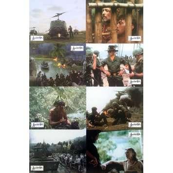 APOCALYPSE NOW REDUX Photos de film x8 - 21x30 cm. - 2001 - Marlon Brando, Francis Ford Coppola