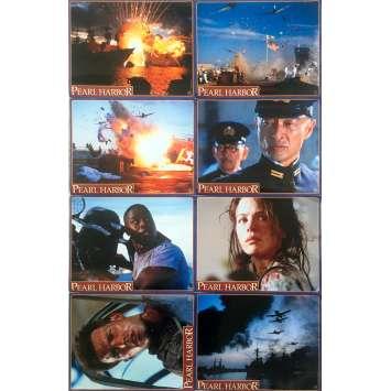 PEARL HARBOUR Original Lobby Cards x10 - 12x15 in. - 2001 - Michael Bay, Ben Affleck, Kate Beckinsale