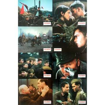 ENEMY AT THE GATES Original Lobby Cards x8 - 9x12 in. - 2001 - Jean-Jacques Annaud, Jude Law, Ed Harris