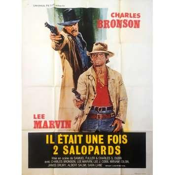 IL ETAIT UNE FOIS DEUX SALOPARDS Affiche de film - 120x160 cm. - 1978 - Charles Bronson, Samuel Fuller