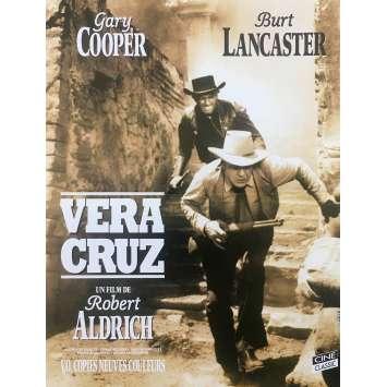 VERA CRUZ Original Movie Poster - 15x21 in. - 1954 - Robert Aldrich, Gary Cooper