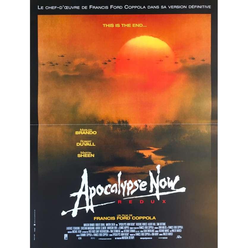 APOCALYPSE NOW REDUX Original Movie Poster - 15x21 in. - 2001 - Francis Ford Coppola, Marlon Brando