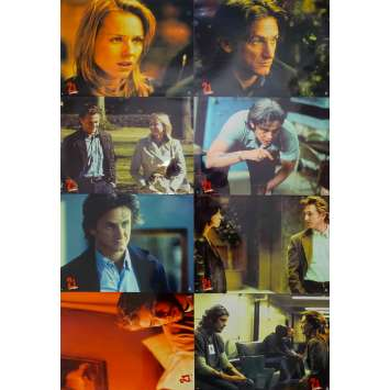 21 GRAMS Original Lobby Cards x8 - 9x12 in. - 2003 - Alejandro G. Iñárritu, Sean Penn