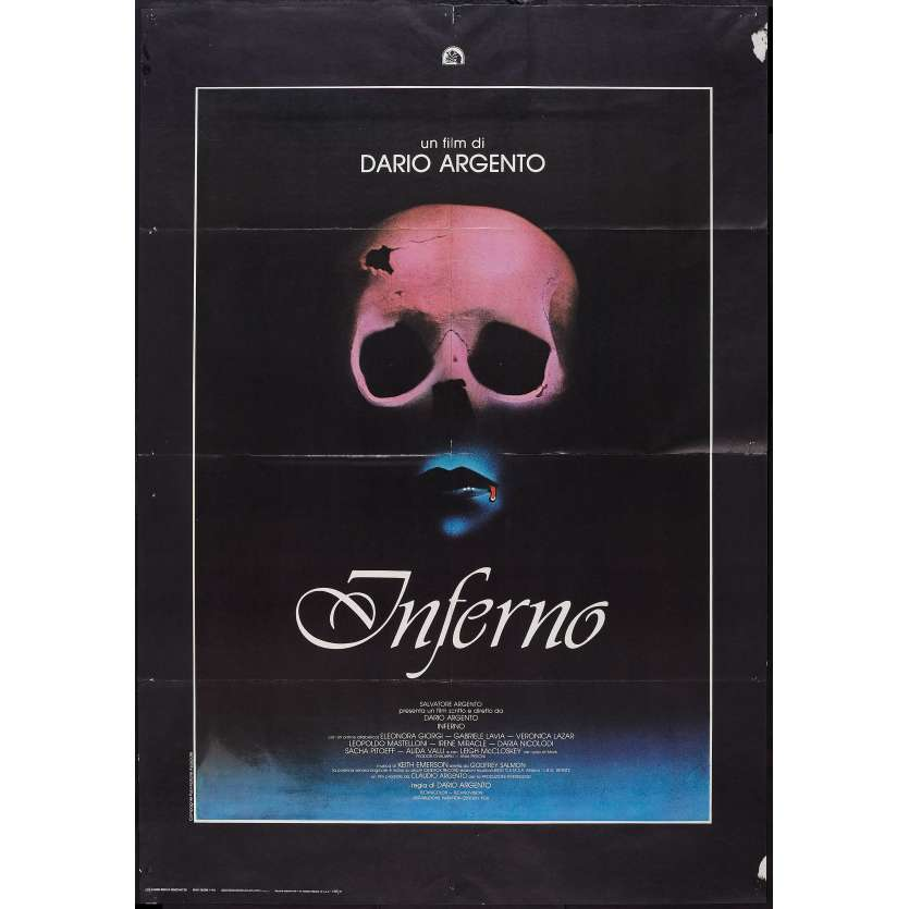 INFERNO Affiche Originale IT 100x140 Dario Argento, horreur