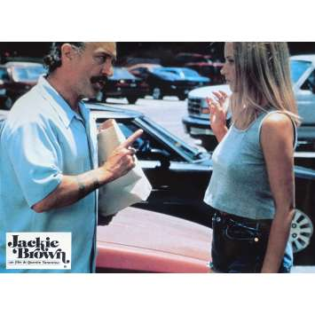 JACKIE BROWN Original Lobby Card N04 - 9x12 in. - 1997 - Quentin Tarantino, Pam Grier