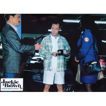JACKIE BROWN Original Lobby Card N07 - 9x12 in. - 1997 - Quentin Tarantino, Pam Grier
