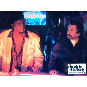 JACKIE BROWN Photo de film N08 - 21x30 cm. - 1997 - Pam Grier, Quentin Tarantino