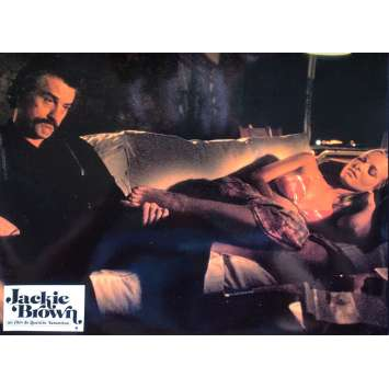 JACKIE BROWN Original Lobby Card N09 - 9x12 in. - 1997 - Quentin Tarantino, Pam Grier