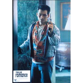 TRUE ROMANCE Original Lobby Card N02 - 9x12 in. - 1993 - Tony Scott, Patricia Arquette