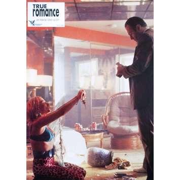 TRUE ROMANCE Original Lobby Card N04 - 9x12 in. - 1993 - Tony Scott, Patricia Arquette