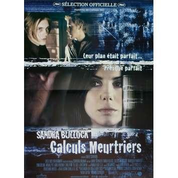 MURDER BY NUMBERS Original Movie Poster - 15x21 in. - 2002 - Barbet Schroeder, Sandra Bullock