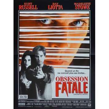 UNLAWFUL ENTRY Original Movie Poster - 15x21 in. - 1992 - Jonathan Kaplan, Kurt Russek
