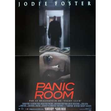 PANIC ROOM Original Movie Poster - 15x21 in. - 2002 - David Fincher, Jodie Foster