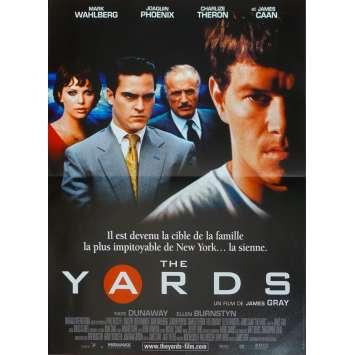THE YARDS Original Movie Poster - 15x21 in. - 2000 - James Gray, Joaquim Phoenix