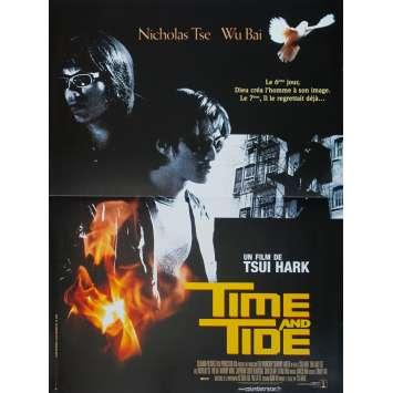 TIME AND TIDE Original Movie Poster - 15x21 in. - 2000 - Tsui Hark, Nicholas Tse