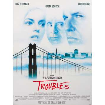 SHATTERED Original Movie Poster - 15x21 in. - 1991 - Wolfgang Petersen, Tom Berenger, Bob Hoskins