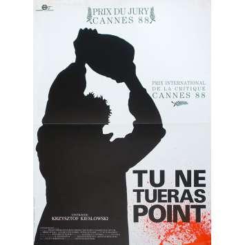 A SHORT FILM ABOUT KILLING Original Movie Poster - 15x21 in. - 1988 - Krzysztof Kieslowski, Miroslaw Baka