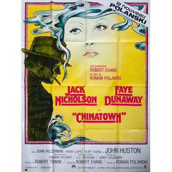 CHINATOWN Original Movie Poster - 47x63 in. - 1974 - Roman Polanski, Jack Nicholson