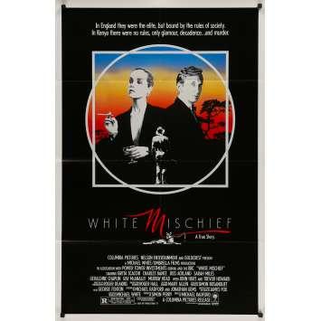 WHITE MISCHIEF Original Movie Poster - 27x40 in. - 1987 - Michael Radford, Sarah Miles