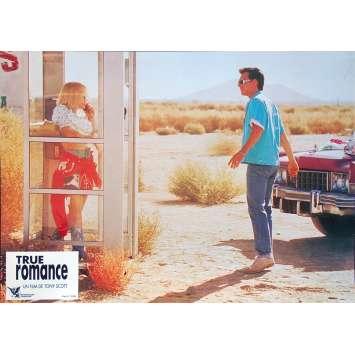 TRUE ROMANCE Original Lobby Card N08 - 9x12 in. - 1993 - Tony Scott, Patricia Arquette